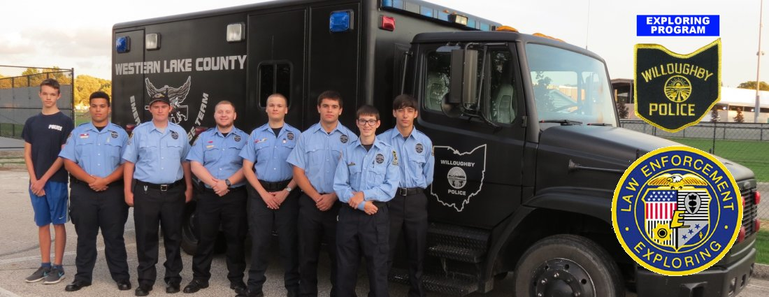 Program Awards – Willoughby Police Law Enforcement Exploring